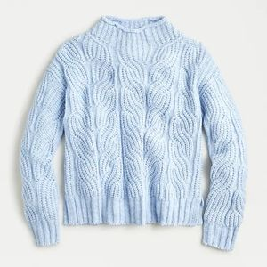 J. Crew Pointelle Cable Sweater Size XL